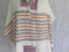 Multi color, Merino/silk and Rayon Tallit and Bag